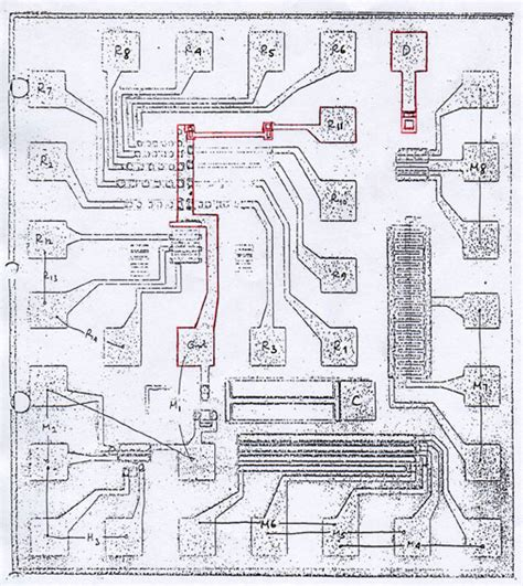 what 1971 integrated circuit has federico faggin s initials the buried contact