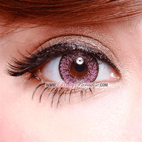 pink colored contacts geo nudy pink circle lenses color eye contacts