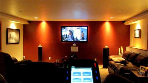 home theater rf remote lighting control part  youtube