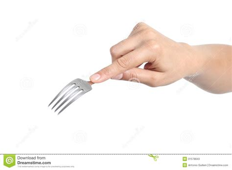 woman hand using a fork stock image image of dinner