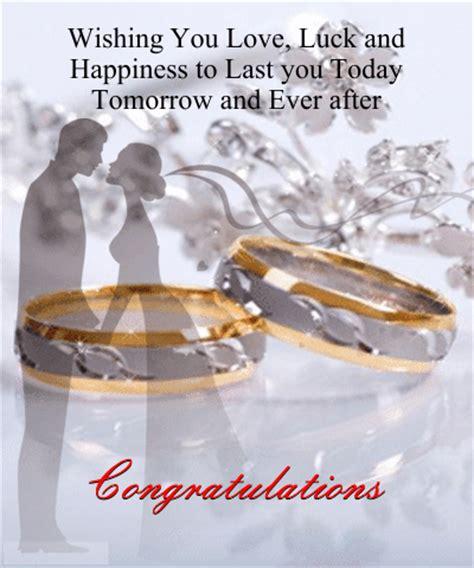 Wedding Congratulations Announcement by A Wedding Wish Free Congratulations Ecards Greeting