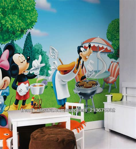 Spongebob Wall Murals mignon mickey mouse et donacdduck image de bande dessin 233 e