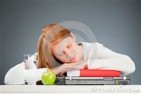 Student Sleeping On Desk by College Student Sleeping On Desk Royalty Free Stock