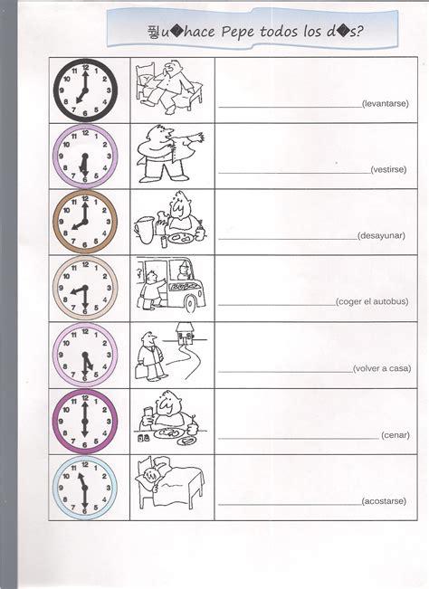verbos reflexivos y rutina diaria con el sr bean vocabulario level 2 lesson 8 vamos let s learn spanish