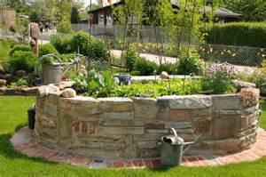 Fotos Gartengestaltung Ideen Hochbeet Aus Naturstein Garten Ideen Pinterest Fotos