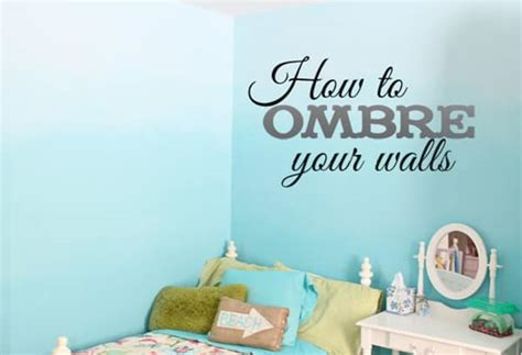 ombre walls tutorial diy craft recipe and painting blogger guest post
