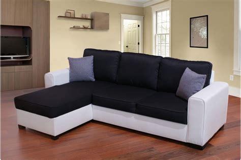 canape noir blanc photos canap 233 noir et blanc simili cuir