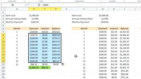 credit card amortization excel template debt snowball excel norstone club