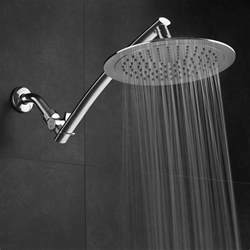 rainfall shower luxury fall chrome extension spa