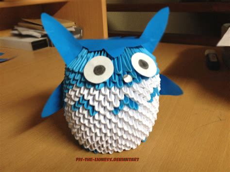origami 3d totoro tutorial 3d origami chu totoro by brownblurry on deviantart