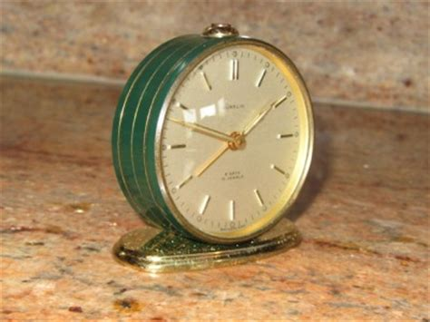 cool vintage art deco style alarm clock face and parts gubelin 8 day shelf alarm clock 15 jewels swiss made brass