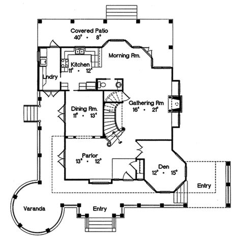 floor plans aflfpw06764 2 story queen anne home with 4 authentic queen anne victorian house plans house plans