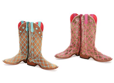 Bean Patchwork Boots - macie bean patchwork cowboy boots horses heels