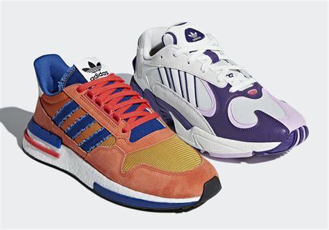 adidas two sneakers are goku frieza kotaku australia