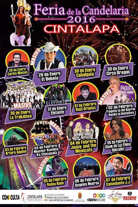 Calendario Xmatkuil 2017 Feria De La Candelaria Cintalapa 2016 191 D 243 Nde Hay Feria