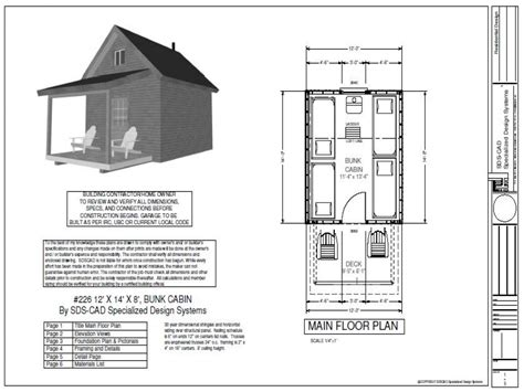 cabin blueprints free one room cabin plans free andybrauer