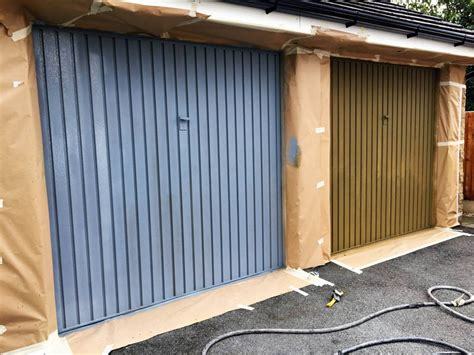garage door spray spray paint garage door garage door spray painting don