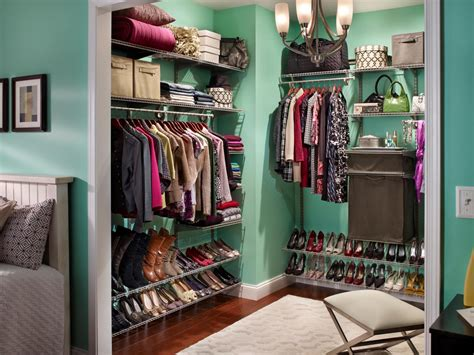 How To Make Walk In Closet by Shoe Racks For Closets Hgtv