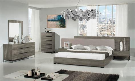 nova domus enzo italian modern grey oak chest