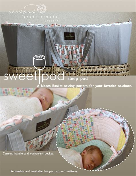Baby Pod Sleeper by Sweetpod Baby Gear For Home Sewers