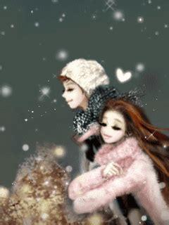 wallpaper kartun korea romantis kumpulan gambar kartun romantis kartun couple animasi