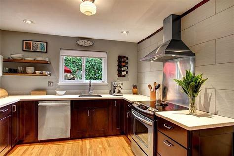 kitchens without cabinets kitchens without top cabinets ideas for that awkward