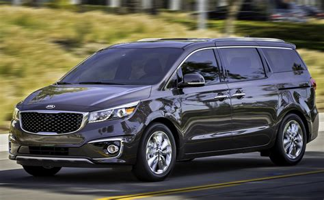 The New Kia Sedona 2017 Kia Sedona Overview Cargurus