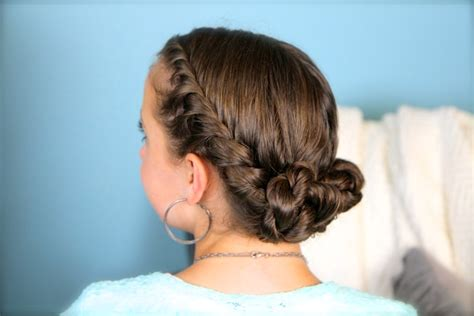 rope twist updo homecoming hairstyles cute girls double twist bun updo homecoming hairstyles cute girls