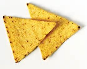 one tortilla chip
