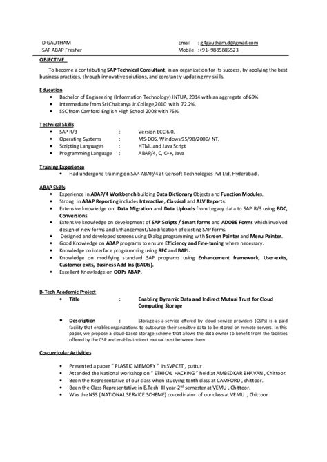 sample sap consultant cover letter consulting cover letter example