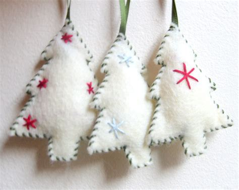 felt ornament christmas tree christmas ornament handmade felt