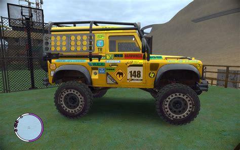 land rover defender inside gta 4 land rover defender v2 rims mod gtainside
