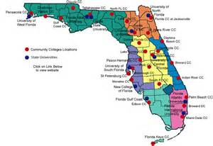 ta florida on a map collegue and forex florida colleges