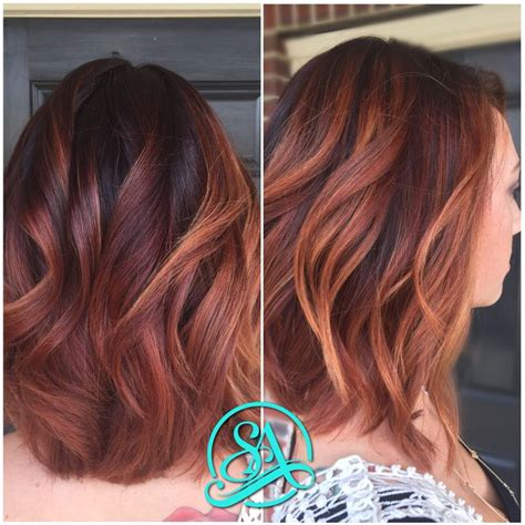 artist with copper brown hair color best 25 copper balayage ideas on pinterest copper