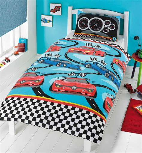 racing bedding racing cars duvet cover set from century textiles