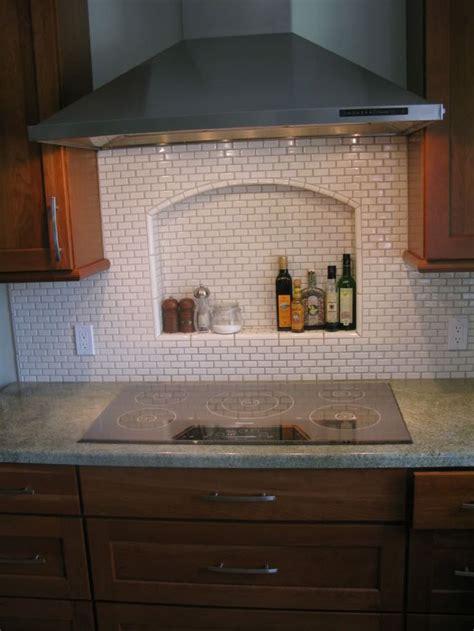 Kitchen Backsplash Niche Pin By Lamoureux On Kitchen