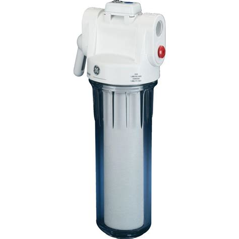 whole house water filters ge whole house water filtration system gxwh20s the home depot
