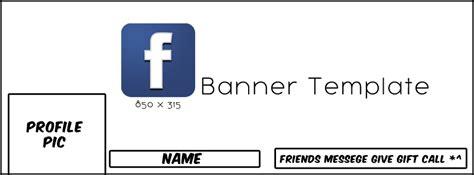 facebook banner template by jailboticus on deviantart