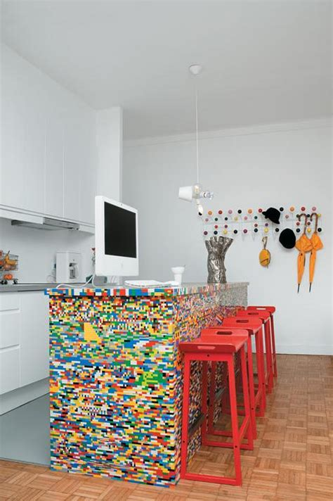 lego kitchen island 19 lego decorations and room decor ideas your will