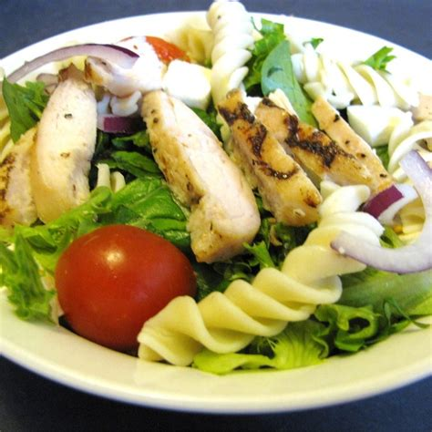 chicken pasta salad recipe chicken and pasta salad recipe all recipes uk