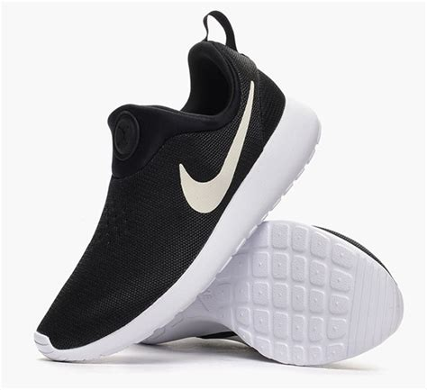 Nike Slip O nike roshe run slip on black white sneakernews