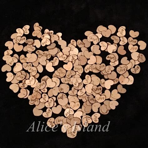 heart pattern wood aliexpress com buy 200pcs love heart pattern wooden diy
