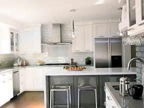 Modern Backsplash For Kitchen by Modern Kitchen Backsplash Ideas With White Cabinets Home
