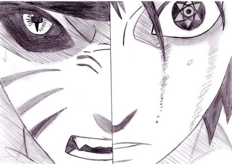 Tempat Pensil Pencil Anime Shippuden Uzumaki drawings sasuke vs sasuke by kamisama66