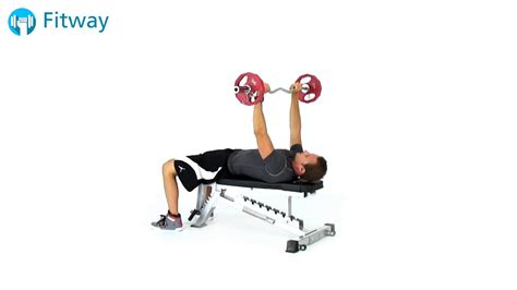 how to do ez curl bar crunch flat bench ab workout exercise