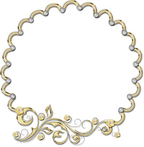 psd detail decorative frame gold brilliants official