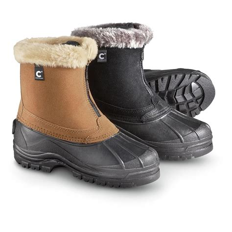 cabelas womens winter boots s itasca comfortemp 174 front zip boots 200626