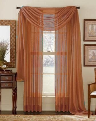 Rust Colored Curtains Designs 1000 Ideas About Window Scarf On Scarf Valance Valances And Window Treatments