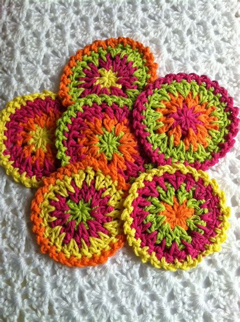 crochet coasters 21 easy crochet coaster patterns guide patterns