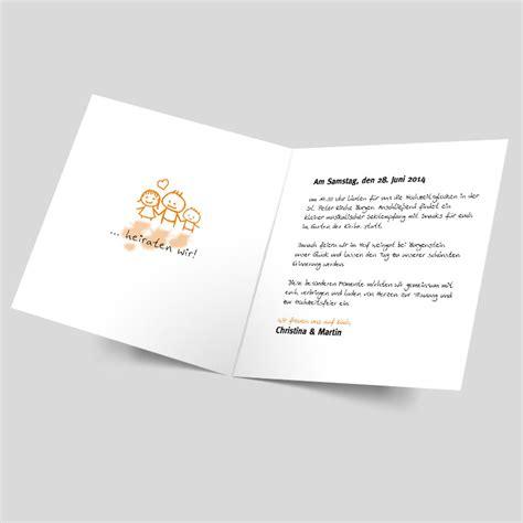 Einladungskarten Hochzeit Orange by Hochzeitseinladung Welch Ein Paar Orange